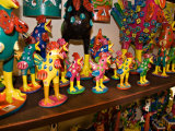 Fanciful Carvings From Oaxaca  Mazatlan  Mexico