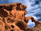 Arch Rock  Valley of Fire State Park  Nevada  USA