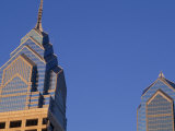 Skyscrapers and Skyline  Liberty II Towers  Philadelphia  Pennsylvania  USA
