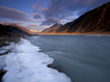View of River and Landscape  Arctic National Wildlife Refuge  Alaska  USA