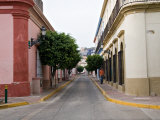 Street in the Historic Center of Mazatlan  Mexico
