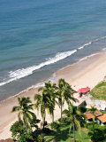 View of Playa Gaviotas from the El Cid El Moro Hotel  Mazatlan  Mexico