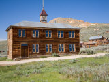 School House Bodie State Historic Park  CA