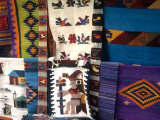 Artwork on Rugs  Oaxaca  Mexico