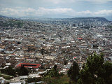 View of Quito from Hillside  Ecuador