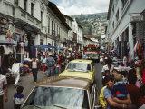 Street Scene in Quito  Ecuador