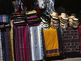 Stall in a Native American Street Market  Santa Fe  New Mexico  USA