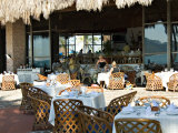Main Dining Room of the El Cid El Moro Hotel  Mazatlan  Mexico