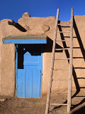 House in the Taos Pueblo  Taos  New Mexico  USA