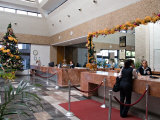 Lobby of the El Moro Beach Hotel  Mazatlan  Mexico