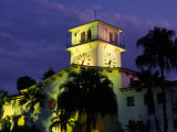 Courthouse at Dusk  Santa Barbara  California  USA