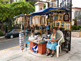 Kiosk Selling Religious Items at the Cathedral  Mazatlan  Mexico