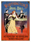 Worthington&#39;s Pool Hall