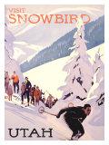 Visit Snowbird, Utah Giclée