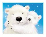 Fluffy Bears IV Reproduction d'art par Alison Edgson