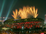 Beijing Olympics Opening Ceremony  Bird's Nest  Beijing  China