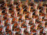 Beijing Olympics Opening Ceremony  Drummer's Performing  Beijing  China