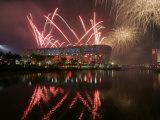 2008 Beijing Olympics Opening Ceremony  Bird's Nest  Beijing  China