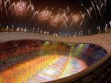 Beijing Olympics Opening Ceremony  Bird's Nest  Beijing  China