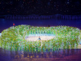 2008 Beijing Olympics Opening Ceremony  Performer's Make the Bird's Nest  Beijing  China