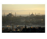 The Blue Mosque And Hagia Sophia Istanbul Turkey