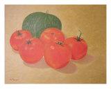 Fresh Tomatoes And Squash