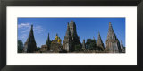 Buildings of a Temple  Wat Chaiwatthanaram  Ayuthaya  Thailand
