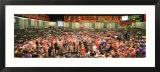Large Group of People on the Trading Floor  Chicago Board of Trade  Chicago  Illinois  USA