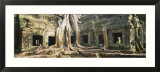 Old Ruins of a Building  Angkor Wat  Cambodia