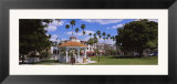 Gazebo in a Park  Venice  Sarasota County  Florida  USA