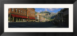 Street Through a Town  Telluride  Colorado  USA