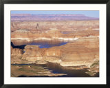 Lake Powell from Alstrom Point  Utah  USA