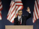 President-Elect Barack Obama Acceptance Speech  Grant Park  Chicago  Illinois  Nov 4  2008