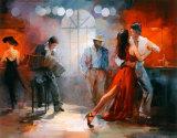 Tango Reproduction d'art par Willem Haenraets
