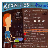 Brownies wirh Almonds