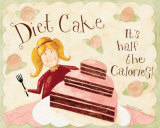 Diet Cake 1/2 the Calories