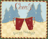 Cheers  Happy Holidays