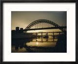 Tyne Bridge  Newcastle-Upon-Tyne  Tyneside  England  UK  Europe