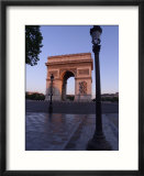 The Arc de Triomphe  Paris  France