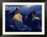 The Cuernos Del Paine (Horns of Paine)  Patagonia  Chile
