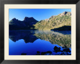 Cradle Mountain and Lake Dove  Cradle Mountain-Lake St Clair National Park  Tasmania  Australia