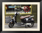 Genovese Coffee and Vespa  Melbourne  Victoria  Australia