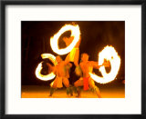 Fire Dance at Bora Bora Nui Resort and Spa  Bora Bora  Society Islands  French Polynesia