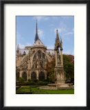 Flying Buttresses of Notre-Dame  Paris  France