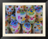 Sugar Skulls are Exchanged Between Friends for Day of the Dead Festivities  Oaxaca  Mexico