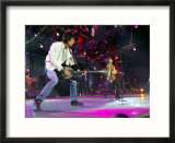 Rolling Stones  Ronnie Wood Andmick Jagger at Twickenham Tonight  August 2003