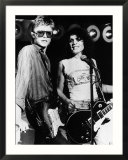 Marc Bolan and David Bowie  1977