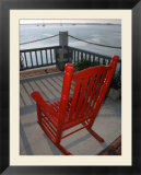 Rocking Chair Overlooking Fernardina Harbor  FL