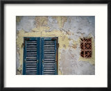 Weathered House with Shutters at Bastoni Marco Polo  Alghero  Sardinia  Italy