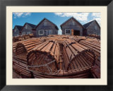 Fishing Huts & Lobster Pots  Pei  Canada